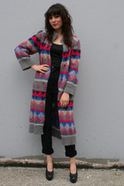 Heather Gray Vintage Coats