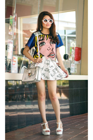 pop art Front Row Shop shirt
