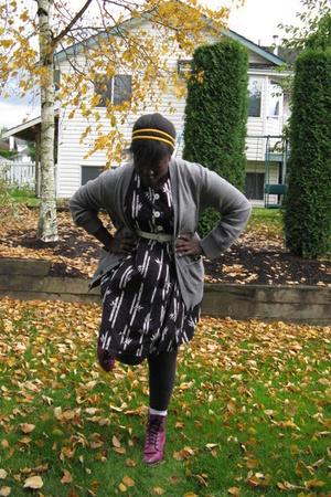 American Apparel - Gap sweater - dress - shoes