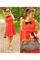 carrot orange Nife dress