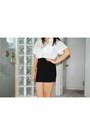 White-forever-21-shirt-black-forever-21-skirt-charcoal-gray-made-by-myself-n