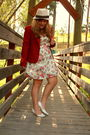 Moms-closet-blazer-rue21-dress-moms-closet-shoes-urban-outfitters-hat
