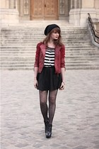 brick red Derhy jacket