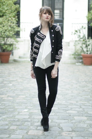 black Stylemeceleb jacket