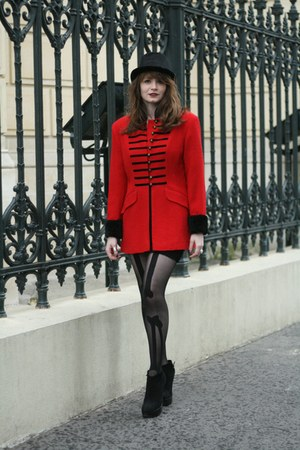 black Henry Holland tights