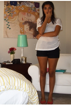 forever 21 t-shirt - DIY shorts - Urban Outfitters shoes