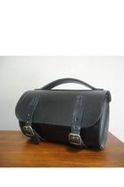 black Bike Bag purse