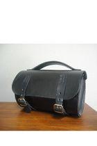 black Bike Bag purse