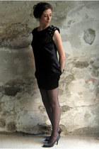 black Martin del Hierro dress - black Mango pumps