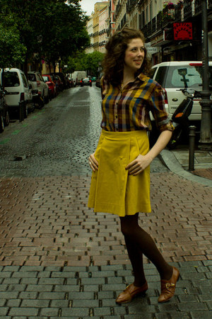 Topshop shoes - Scotch&amp;Soda shirt - COS skirt