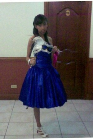 blue kashieca dress