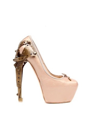 pink Alexander McQueen shoes