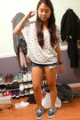 White-f21-top-blue-vans-shoes