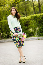 Zara shorts - asos skirt - Zara sandals