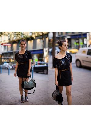 H&M dress - H&M belt - Corti shoes