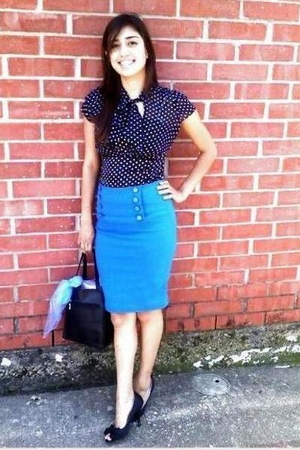 Burlington coat factory top - Goodwill skirt - Forever21 shoes