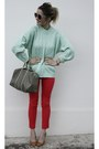 Zara-coat-gucci-bag-zara-heels-h-m-pants
