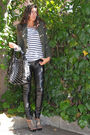 Green-bershka-blazer-white-jennifer-t-shirt-black-morgan-bag-black-zara-pa