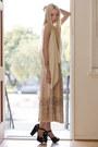 Off-white-silk-ever-vest-light-pink-pleated-skirt-vintage-skirt