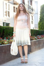 White-margarita-green-bag-light-pink-h-m-top-light-pink-laocoonte-heels