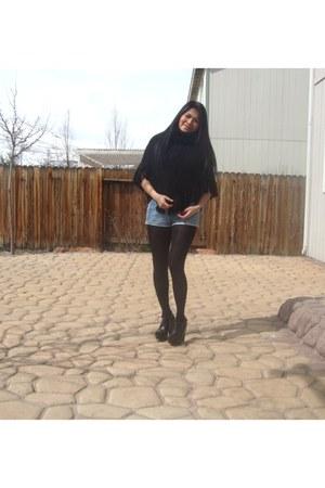 black DV by dolce vita shoes - black Vera Wang Kohls tights