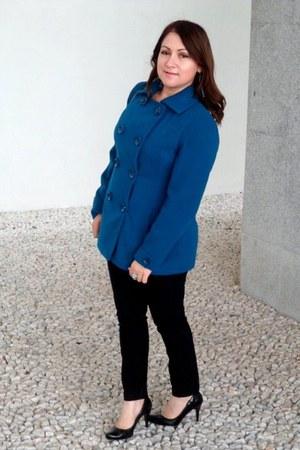 Forever 21 coat - Charlotte Russe pants