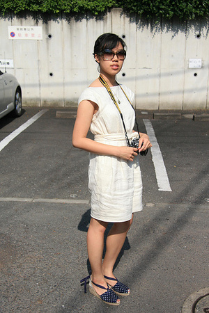 Philip Lim for Uniqlo dress - Muji shoes