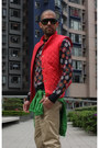 Floral-jumper-club-monaco-jumper-mossimo-jacket-down-vest-club-monaco-vest