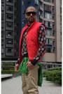 Floral-jumper-club-monaco-jumper-mossimo-jacket-down-vest-club-monaco-vest