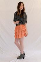 Gray-nylon-acrylic-evil-twin-top-orange-minty-meets-munt-skirt