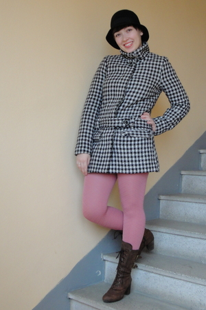 H&M coat - H&M hat - tights
