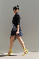 skirt - sandals