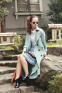 Sky-blue-front-row-shop-coat-light-blue-front-row-shop-skirt