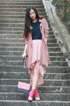 light pink urban blues skirt - navy Future Classics blouse