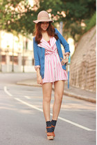 bubble gum Yesstyle dress - violet Chicwish blazer