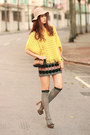 Yellow-becky-bloomwoods-wardrobe-sweater-light-pink-chloe-bag