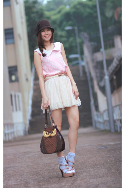 light pink Marni heels - bubble gum Yesstyle dress