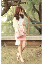 white the layers accessories - light pink the layers skirt