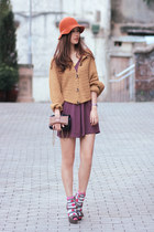 hot pink Accessorize socks - purple Club Couture dress