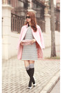Black-romwe-dress-light-pink-choies-blazer-pink-valentino-bag