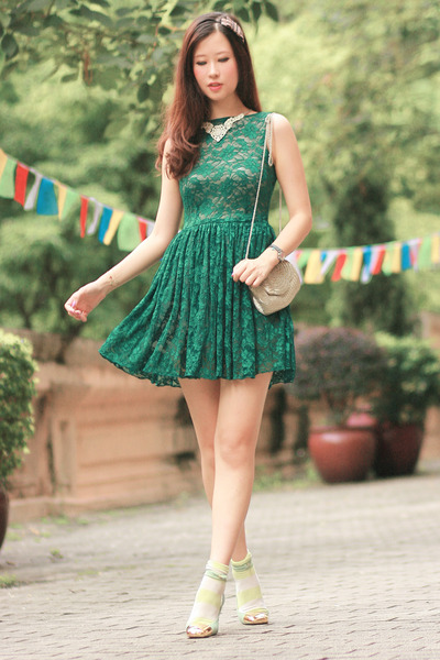 green AsianICandy dress
