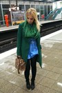 Green-united-colors-of-benetton-coat-black-tights-zara-tights