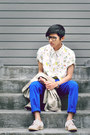 Asos-shoes-blue-luckybrand-jeans-off-white-thrifted-lizclairborne-shirt