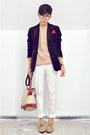 Crimson-zara-blazer-tan-nude-oxford-zara-shoes-peach-gifted-sweater