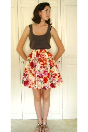 Target skirt - American Eagle top - Old Navy shoes