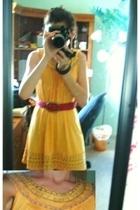 American Eagle belt - forever 21 dress