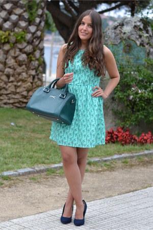 Lucloset dress - Bimba & Lola bag - Deichmann heels
