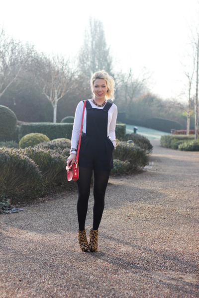 pinafore Daisy Street dress - half pint Britstitch bag