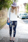Floral-sheinside-pants