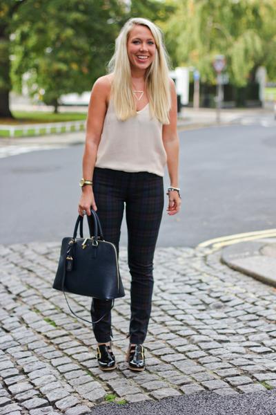 tartan Zara pants